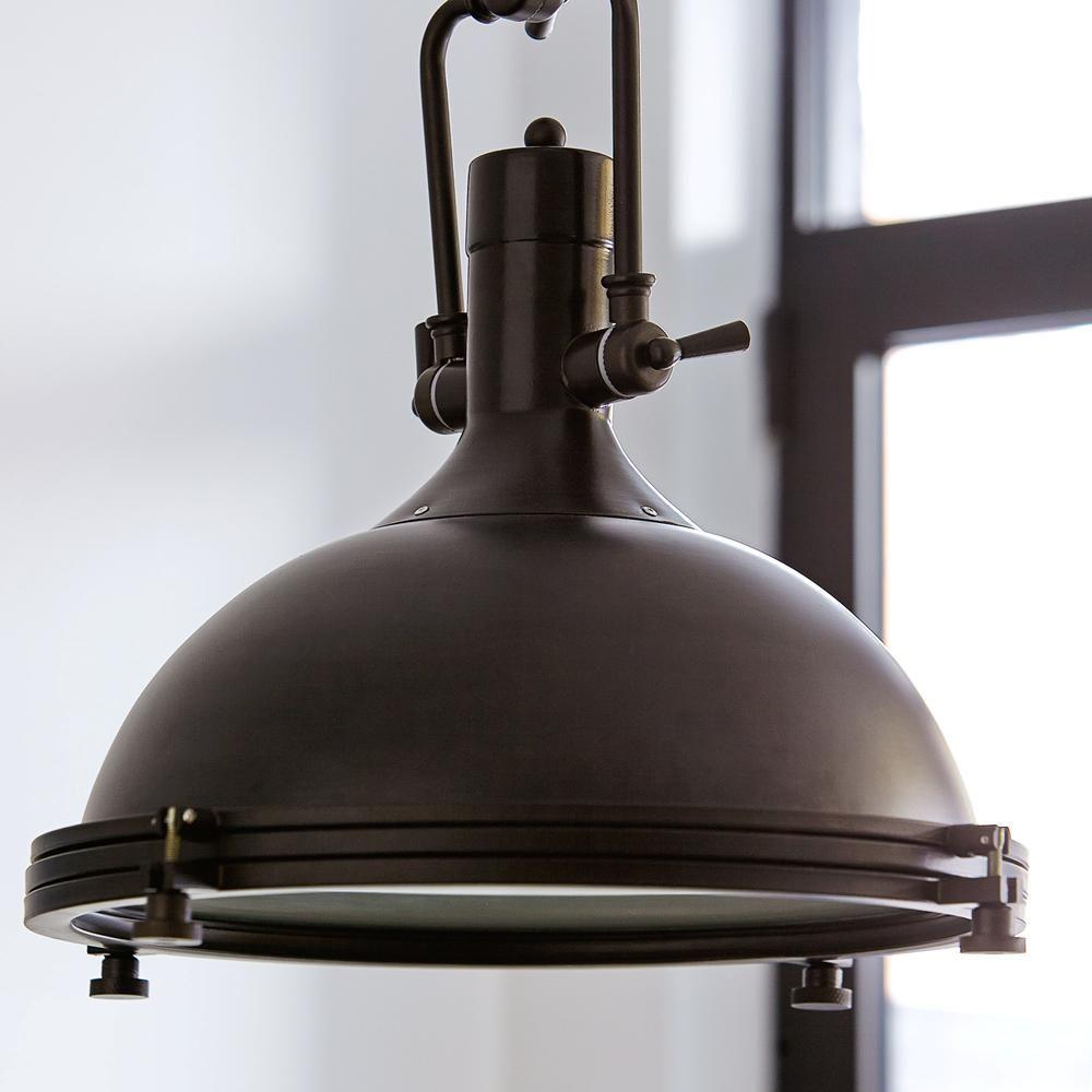 atelier lampe suspendue en m tal vendue telle quelle. Black Bedroom Furniture Sets. Home Design Ideas