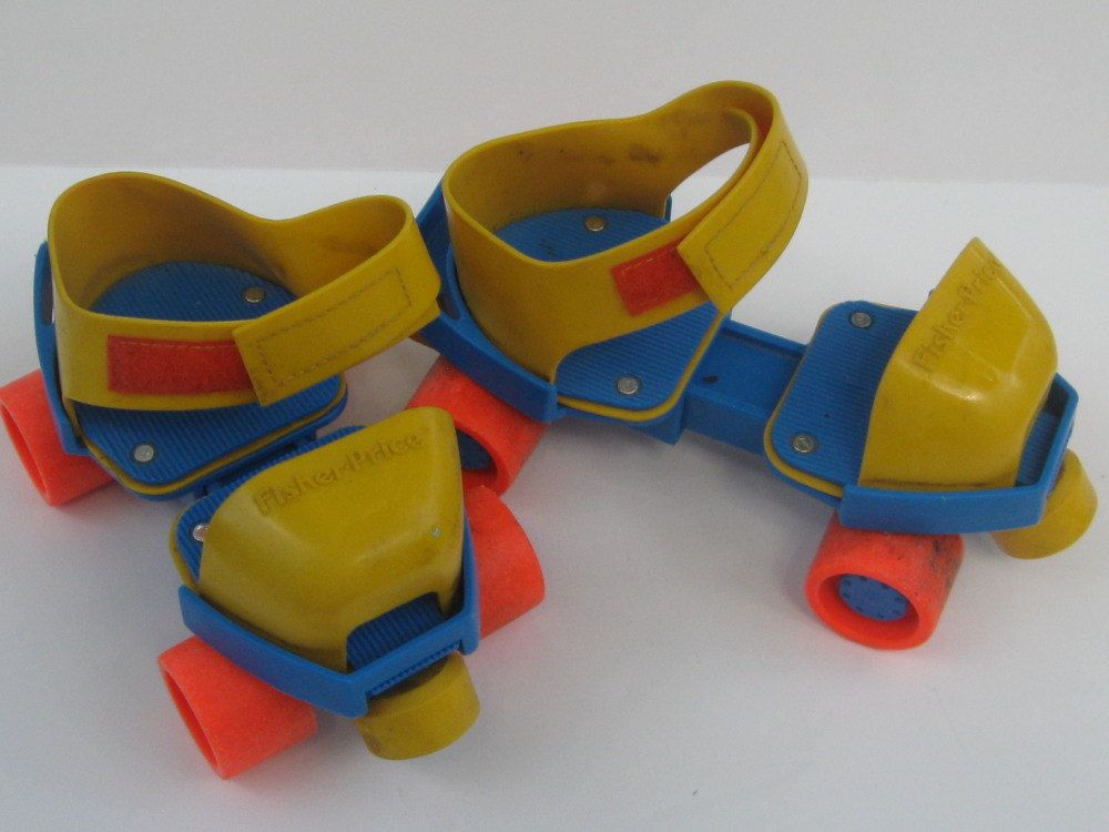 I used to have these fisher price roller skates that