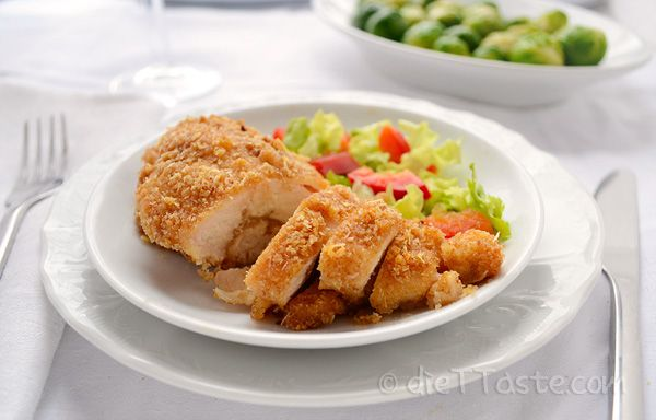 Baked Boneless Chicken Breast - diettaste.com
