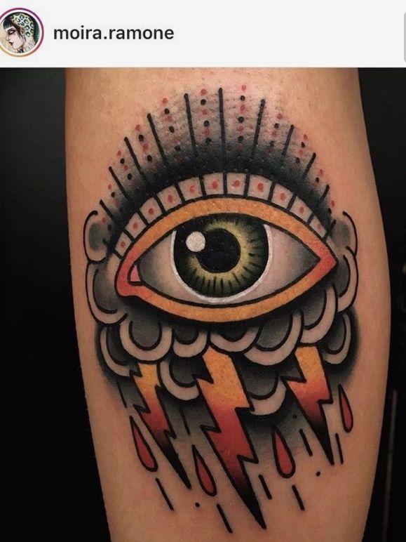 Eye Storm Tattoos Pinterest Tattoos And Tatting