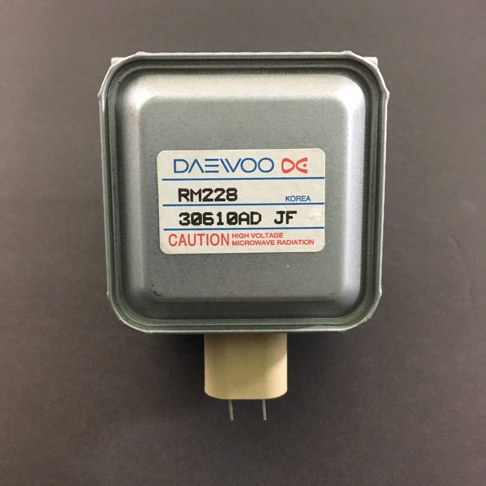 Daewoo Magnetron RM228 30610AD JF Magic Chef Microwave Oven ...