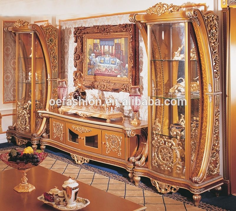 Oe Fashion Luxury Italian Furniture Living Room Wine Display Cabinet With Tv Stand View Custom Living Room Cabinets Oe Fashion Product Details From Foshan Oe Luxury Italian Furniture Italian Furniture Living Room Italian
