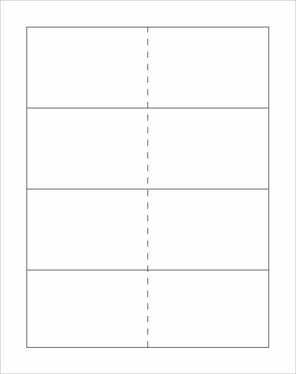 Flash Card Template u2013 13+ Free Printable Word, PDF, PSD, EPS - card templates for word