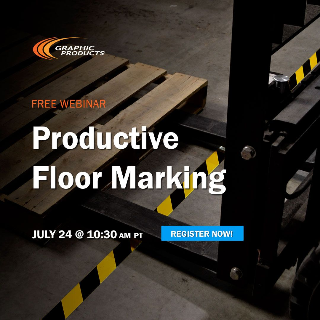 Learn how Productive Floor Marking can improve your