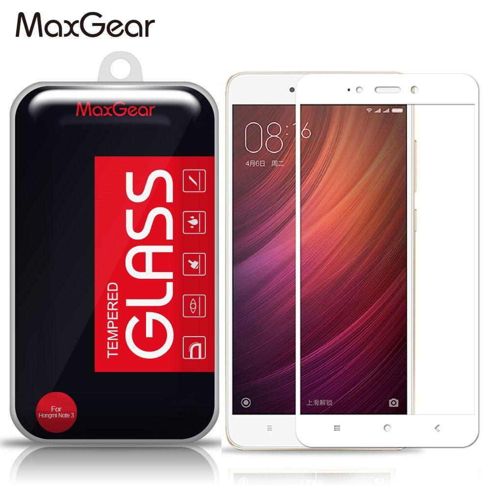 Maxgear Full Cover Tempered Glass Screen Protector For Xiaomi Redmi 4 Prime Redrice Pro
