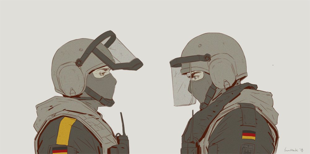 Blitz And Bandit By Cpt Sunstark On Twitter Rainbow Six Siege