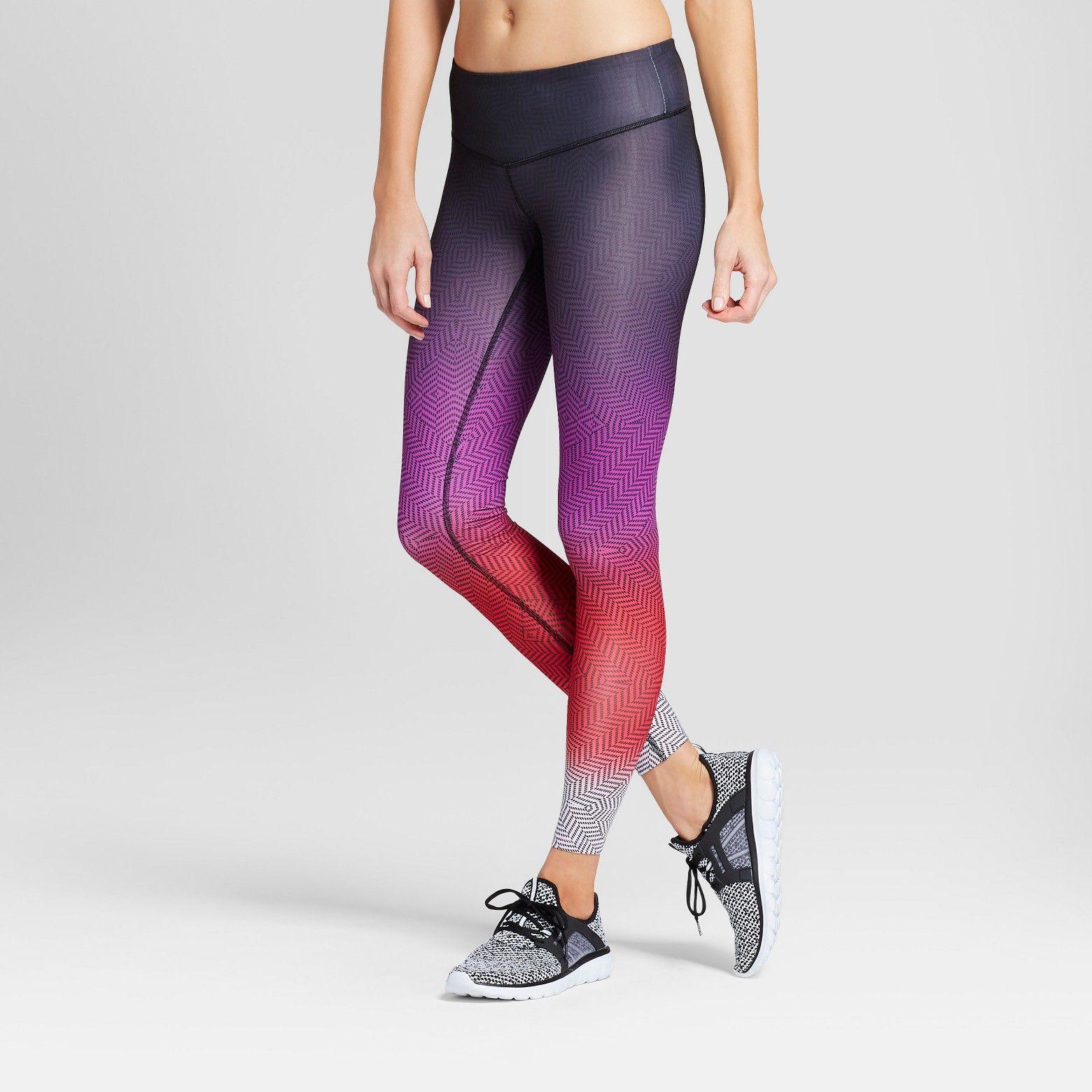 0035038da998d Women's Embrace Geo Ombre Printed Leggings - C9 Champion® : Target ...