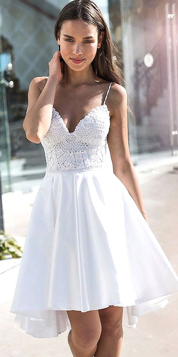 27 amazing short wedding dresses for petite brides | wedding