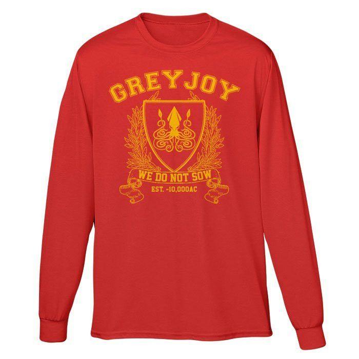 Greyjoy University - Long Sleeve T-Shirt (Unisex)