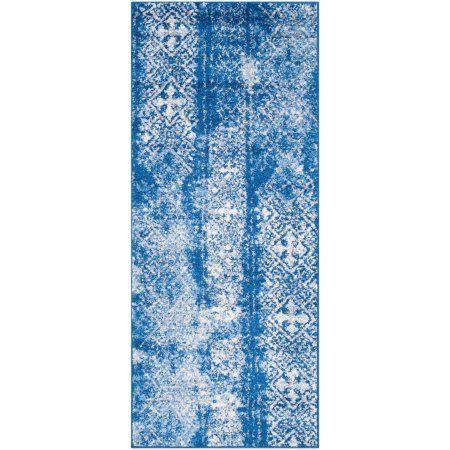 Safavieh Adirondack Montague Power Loomed Runner Rug, Blue