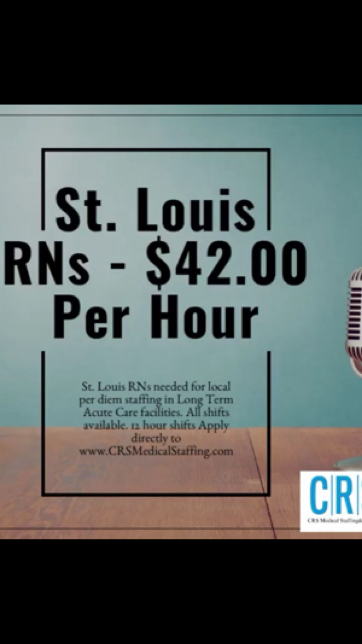 Pin by CRS Medical Staffing & Service on JOB OPPORTUNITIES