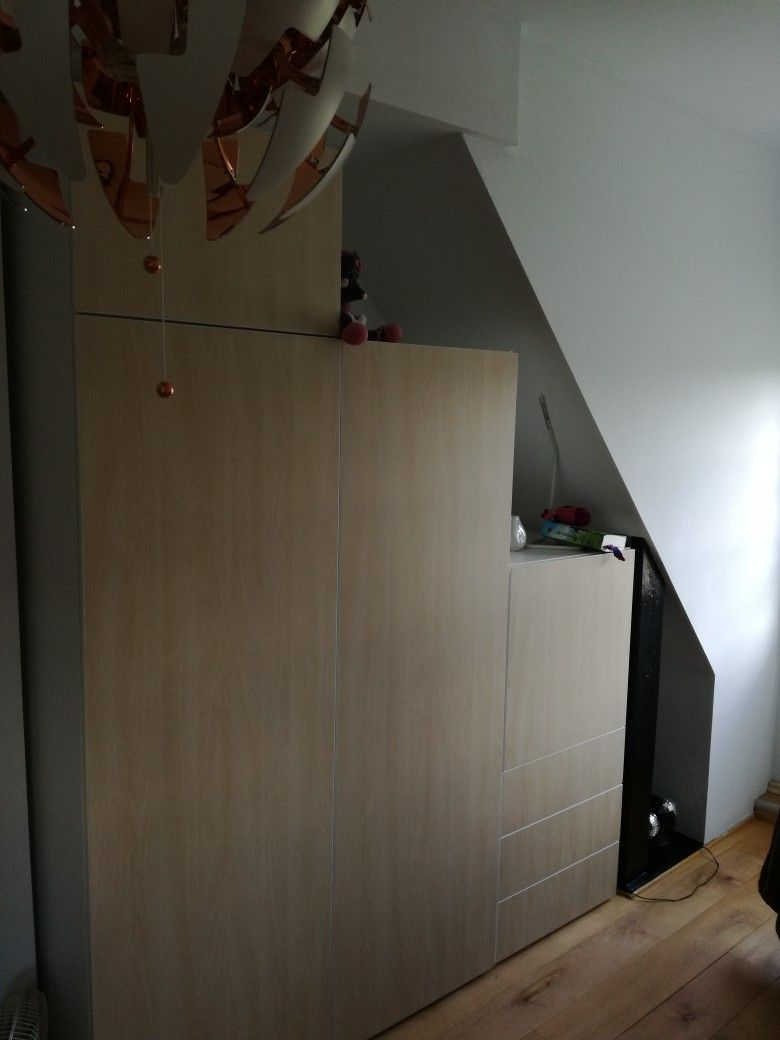 Platsa Ikea Kast Onder Schuine Wand Slaapkamer In 2019