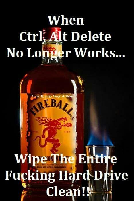 Fireball | Drunk Funnies | Fireball whiskey, Whiskey girl