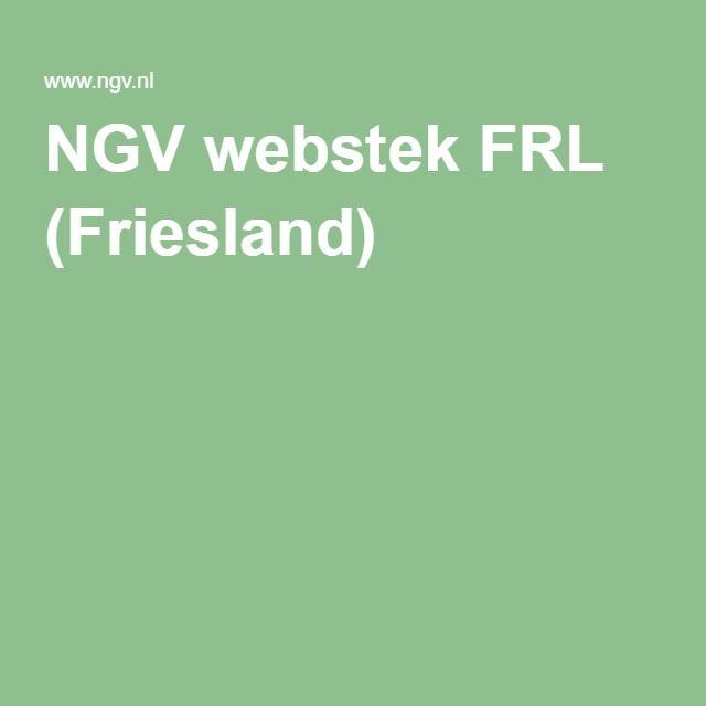 NGV webstek FRL (Friesland)