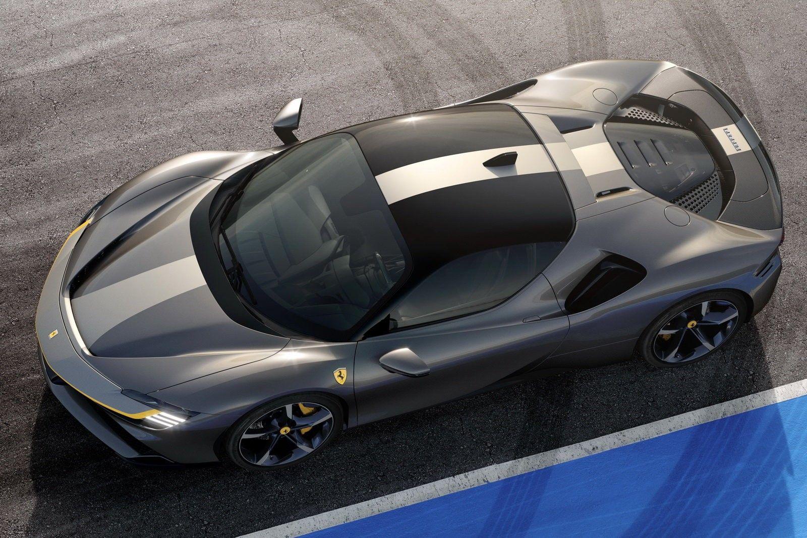 Ferrari Sf90 New Ferrari Hybrid Car