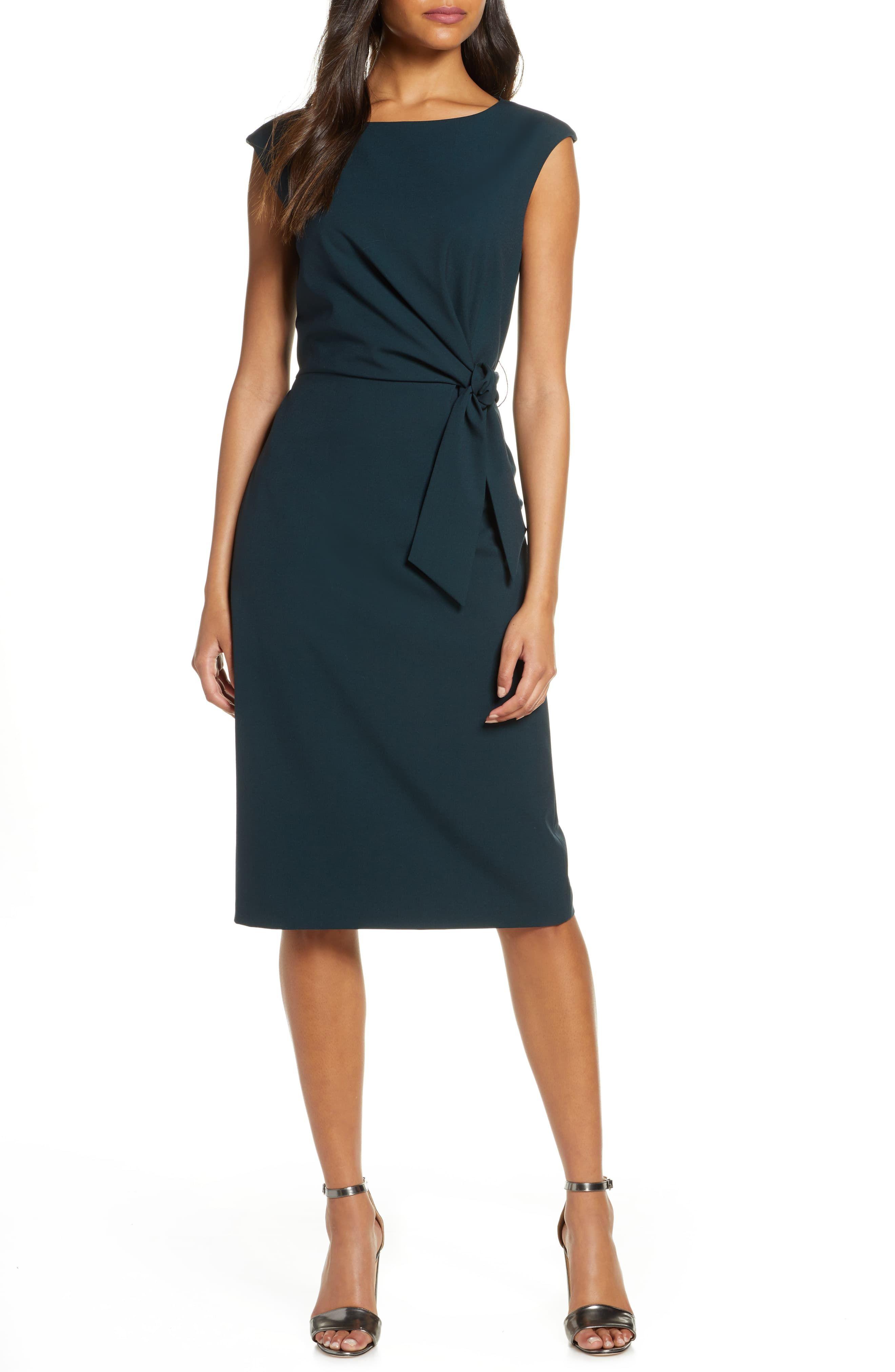 Tahari Cap Sleeve Crepe Sheath Dress Nordstrom In 2020 Sheath Dresses Work Nordstrom Dresses Dresses