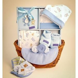 Your Wholesale Dropship Source - Sweet Baby Boy Gift Basket