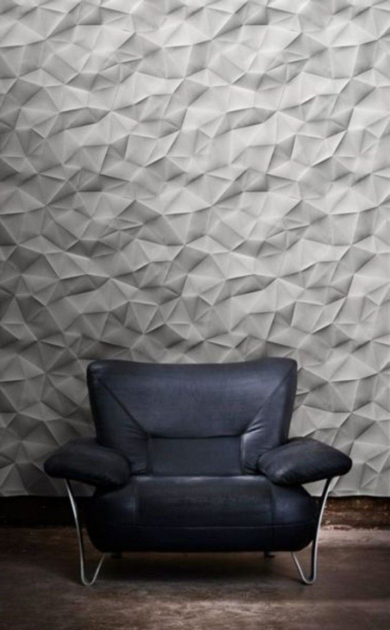 98 Creative Modern Wall Texture Design For Home Interior With