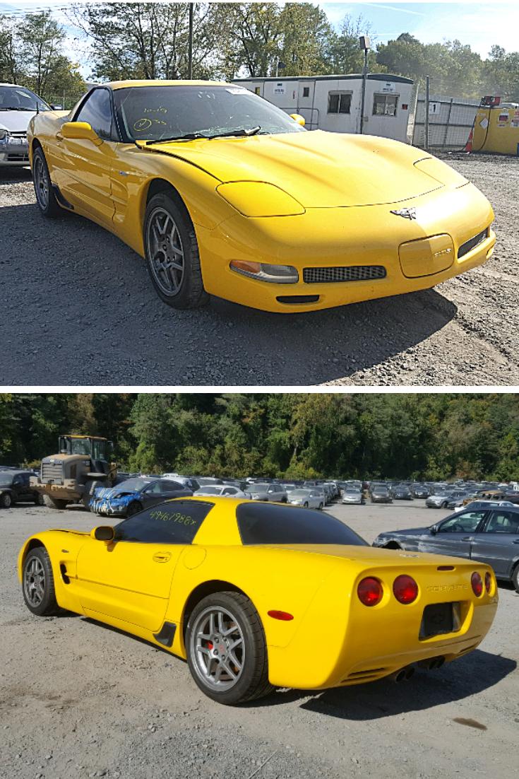 2003 Chevrolet Corvette Z06 Chevrolet Corvette Chevrolet Corvette Z06 Corvette