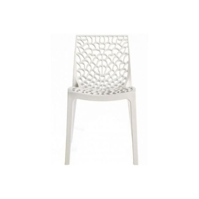 Chaise Design Blanche Opaque Filet Chaise Design Chaise Moderne Mobilier De Salon