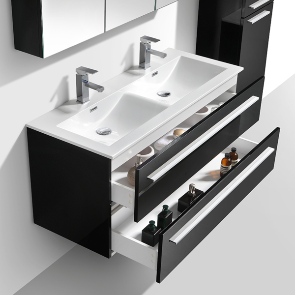 14+ Básico Muebles De Baño Negro Galería - Vene Mueble