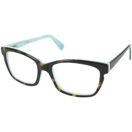 Trend by DNA Women's Rx-able Eyeglass Frames, Tortoise Blue
