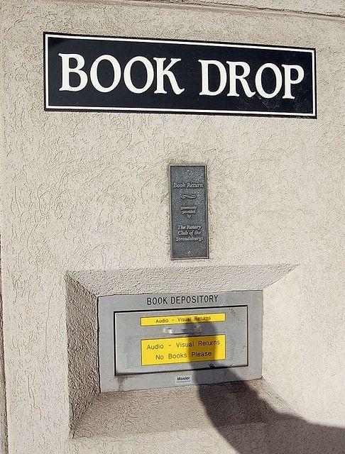 Book Drop: No Books, Please