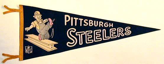 Image result for old steeler pennants