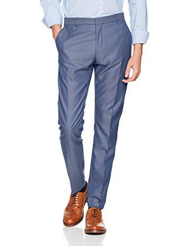SELECTED HOMME Shdone-Maze M. Blue Struct. Trouser STS, Pantalones de Traje para Hombre