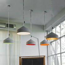 Lámpara suspendida / moderna / de interior / de piedra