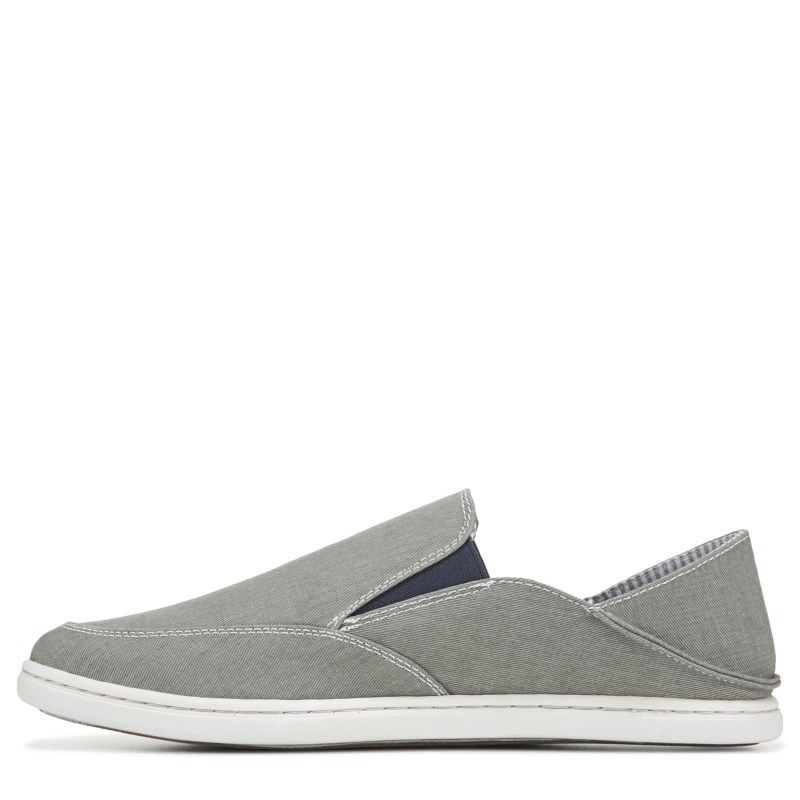 Tommy Hilfiger Men's Cleon Canvas Slip On Shoes (Grey) in