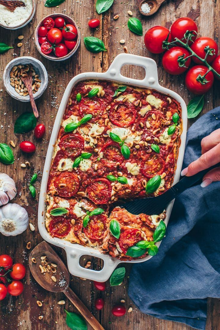 Photo of Vegan Lasagna with Lentils and Zucchini – Bianca Zapatka | Recipes