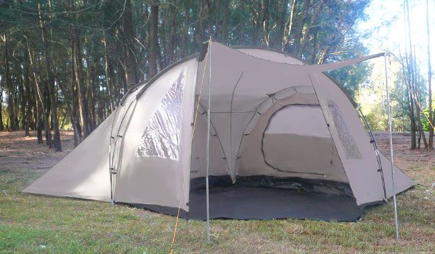Great Bear GBPL-4380 4 man dome tent & Great Bear GBPL-4380 4 man dome tent | Glamping | Pinterest | Dome ...