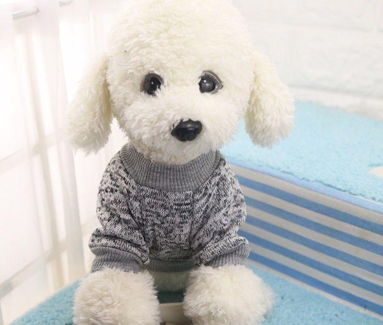 Classic Warm Dog Clothes Puppy Pet Cat Jacket Coat Winter Fashion