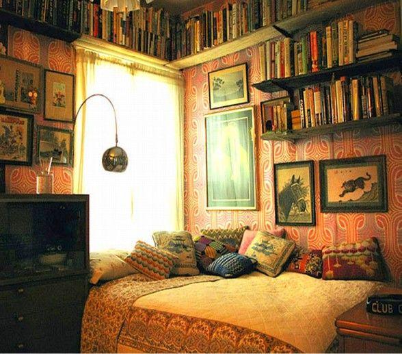 Masculine Vintage Bedroom: Vintage Teenage Male Bedroom Ideas.