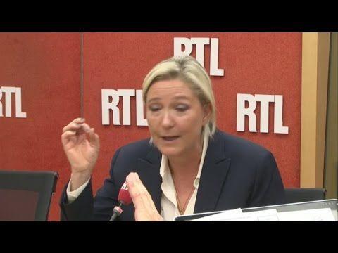 Marine Le Pen, convaincante, répond aux auditeurs de RTL - 20/09