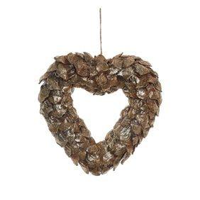 Primark, Decoração coração em pinho 5,00€