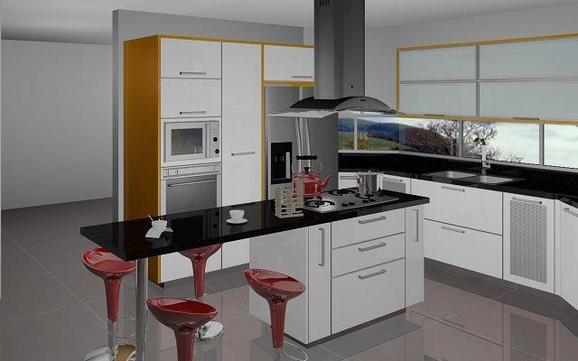 Casas cocinas mueble islas de cocinas modernas for Mueble isla cocina