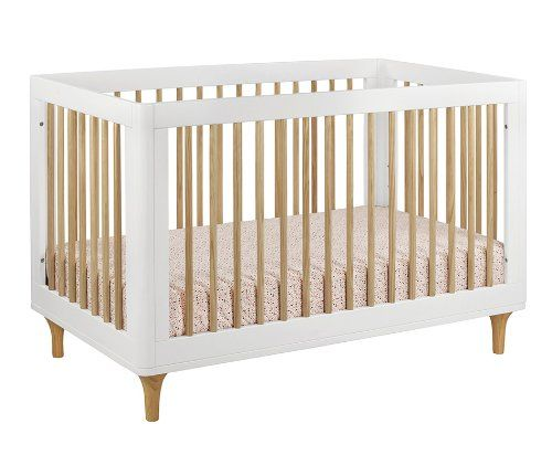 Lolly 3 In 1 Convertible Crib With Toddler Bed Conversion Kit