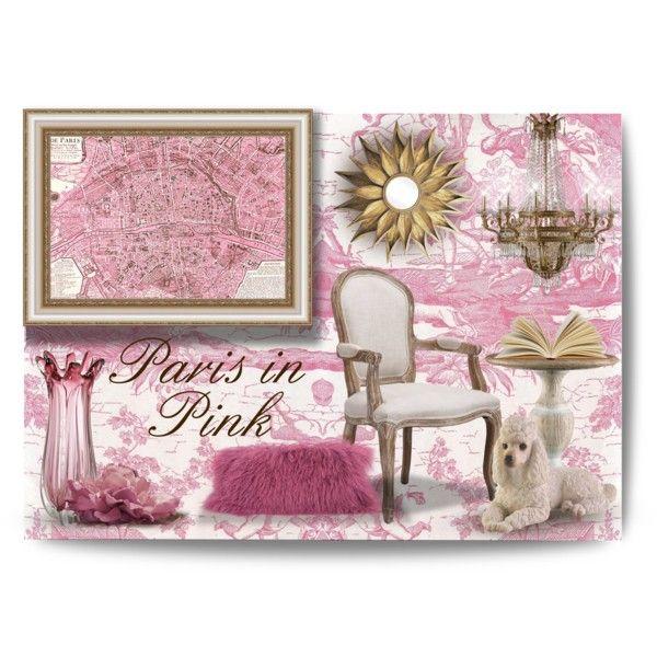 """""""Paris in Pink"""" by debraelizabeth on Polyvore"""