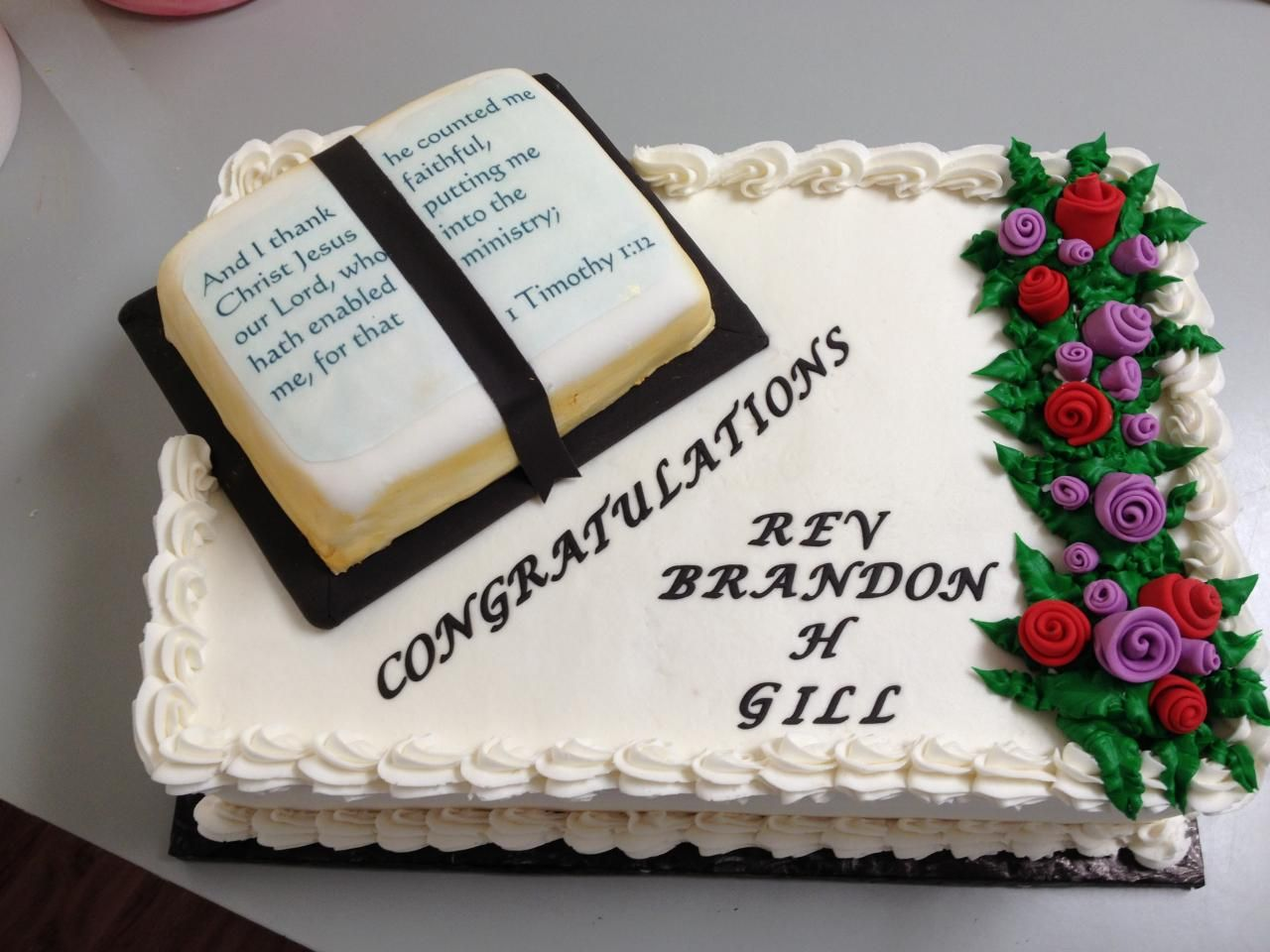 Great Ordination Cake