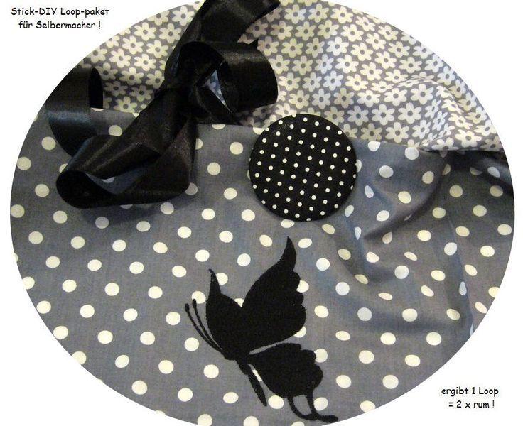 STICK♥Loop♥ DIY Dots Schmetterling Scherenschnitt  von ஐღKreawusel-aufgehübscht✂ஐ  auf DaWanda.com