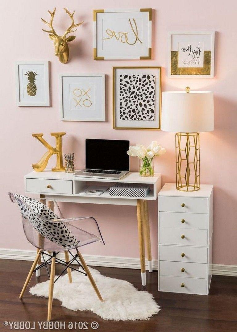 55 Beautiful Bedroom Decor Ideas For Girls Teenage Page 35 Of 63 Beautiful Bedroom Decor Cute Room Decor Dorm Room Decor