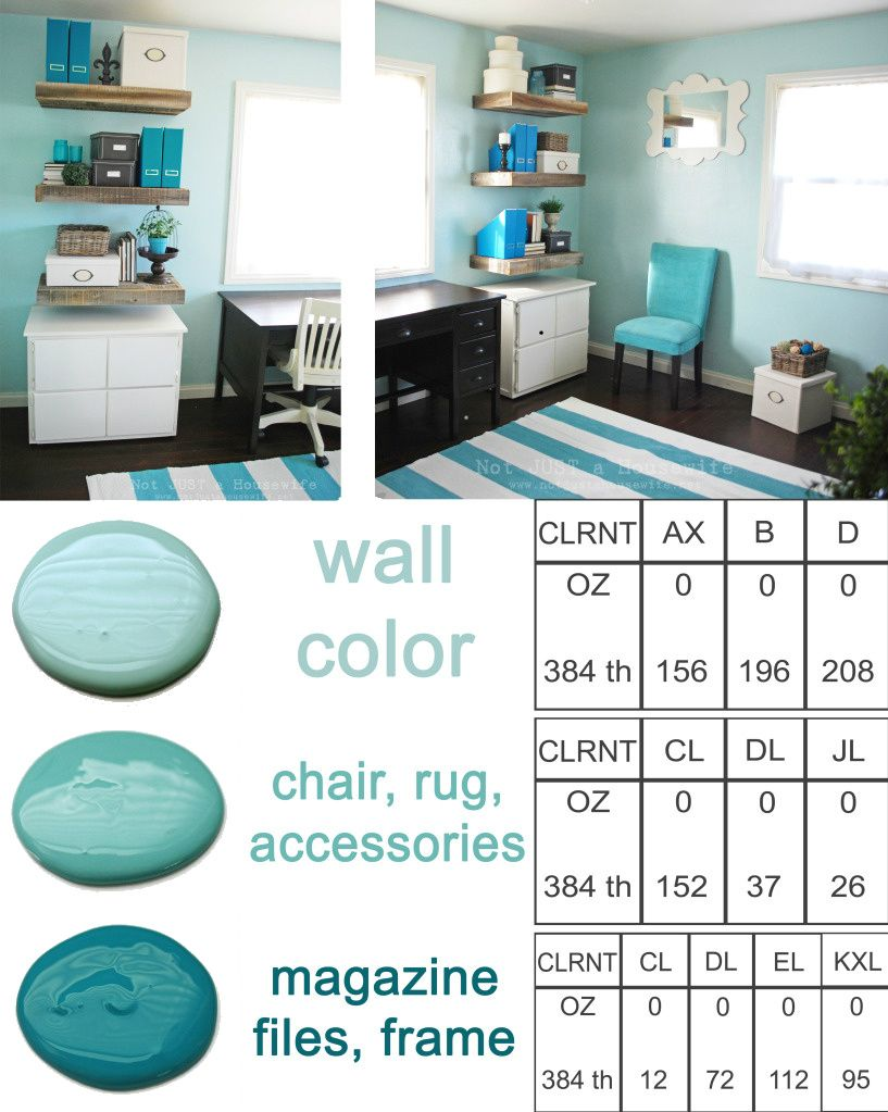 tiffany blue office. CUSTOM BLUE PAINT: I Don\u0027t Know A Ton About The Codes Used To. Office Paint ColorsAqua Tiffany Blue .