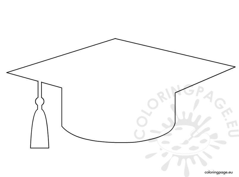 Graduation Cap Template Decoraciones Para Fiesta De Graduado