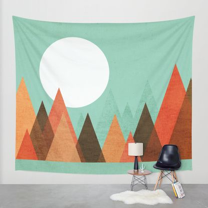 From the edge of the mountains Wall Tapestry by Budi Satria Kwan | Society6