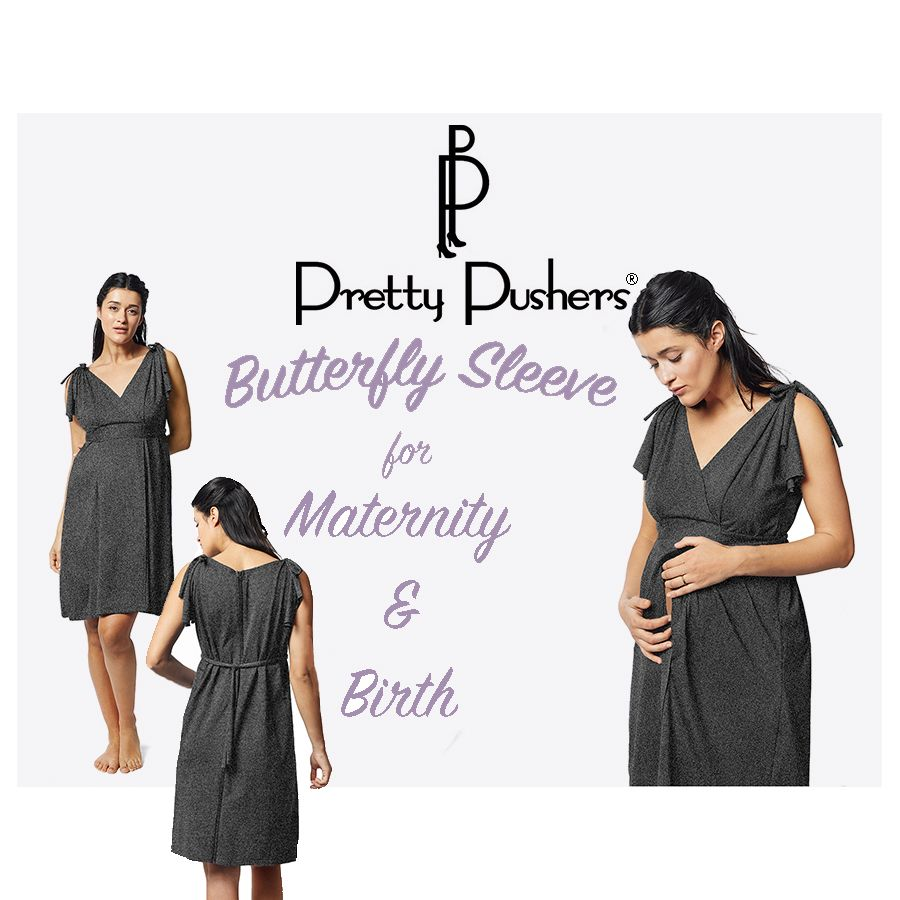 Butterfly Sleeve Labor Gown/Nursing Dress | Products
