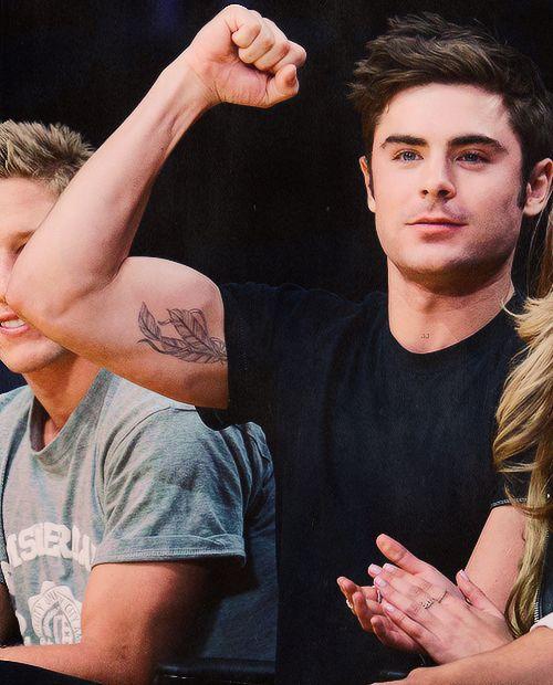 Zac Efron Tattoos : efron, tattoos, Twitter, @daddy, Efron, Tattoo,, Efron,