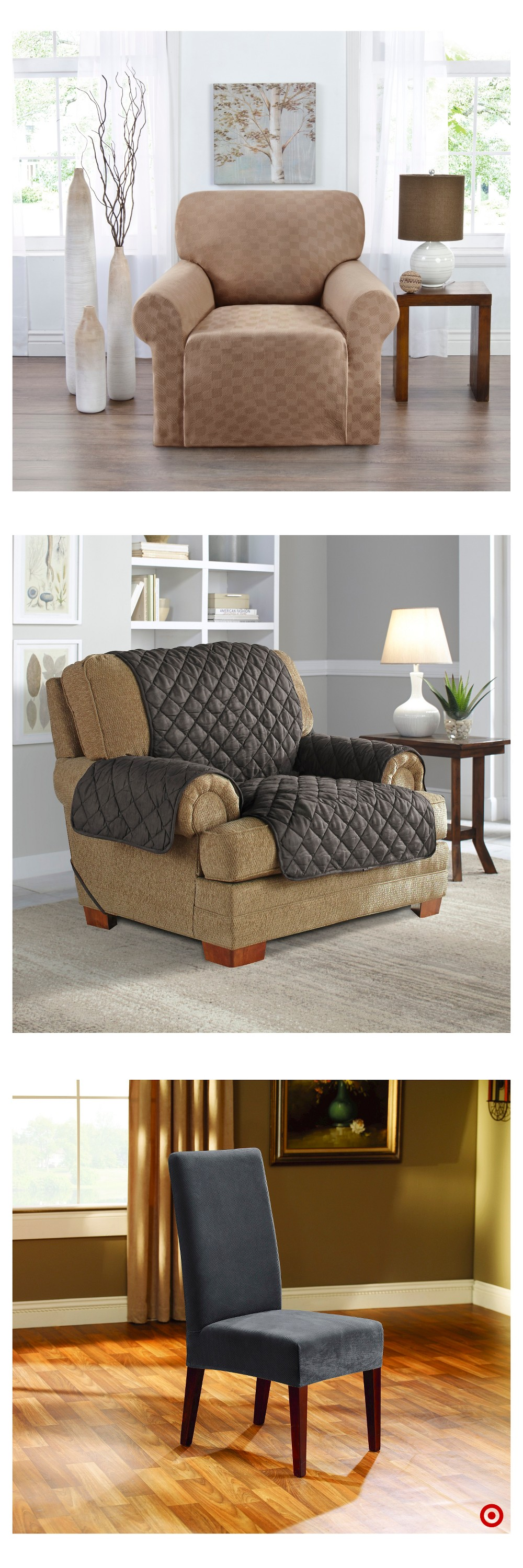 Shop Target for chair slipcover you will love at great low ...