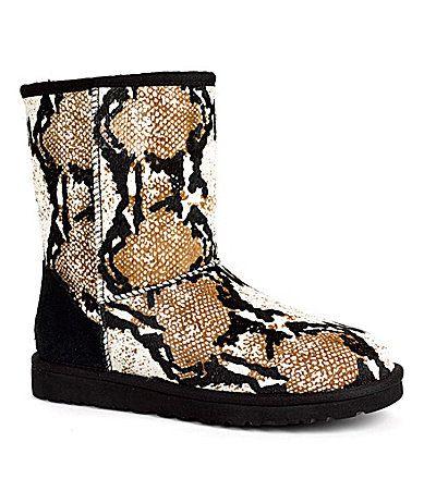 6cfee854c22 UGG Australia Womens Classic Short Reptile Boots #Dillards   Its A ...